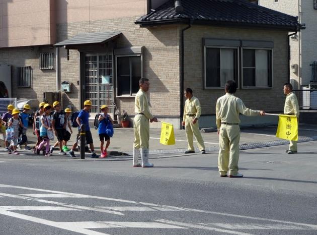 伊奈工場の交通安全活動